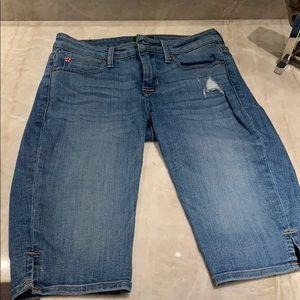 Hudson Viceroy denim Knee Short size 25